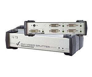 Aten 4 port DVI mit Audio VS-164