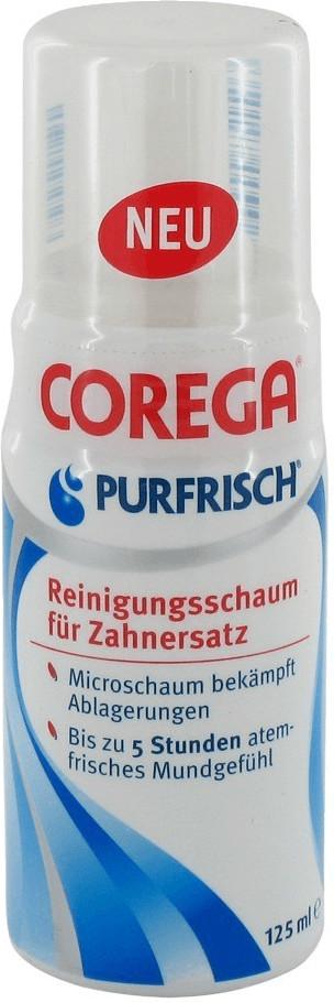 Corega Purfrisch Reinigungsschaum für Zahnersat...