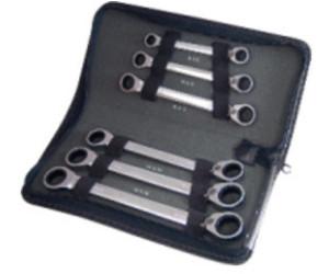 KS Tools GEARplus TX-E-Doppel-Ratschenringschlüssel-Satz 4-tlg.