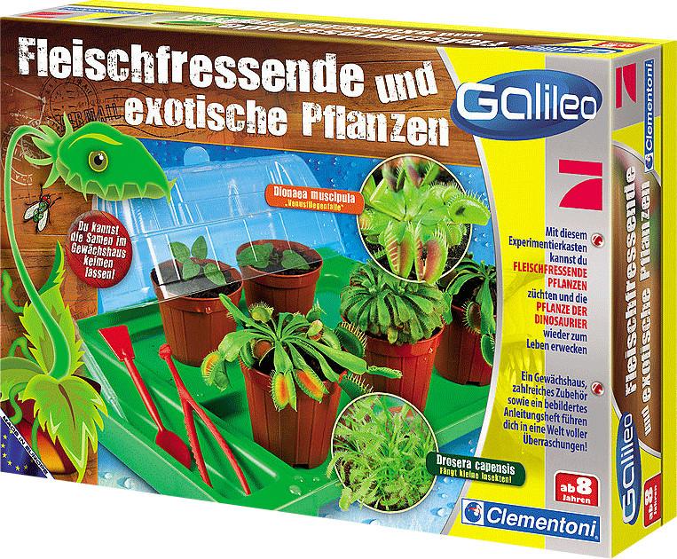Clementoni Galileo - Fleischfressende Pflanzen + Pflanze der Dinosaurier