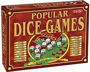 Tactic Popular Dice Games (englisch)