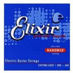 Image of Elixir Strings Nanoweb Custom Light