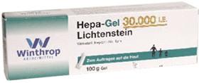 Hepa Gel 30.000 I.E. Lichtenstein (100 g)