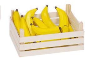 Goki Bananen in Obstkiste