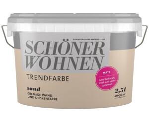 Schöner Wohnen Trendfarbe Matt 25 L Sand Ab 1995