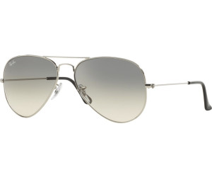 6a1434ac4c181 Buy Ray-Ban Aviator Metal RB3025 003 32 (silver gradient grey) from ...
