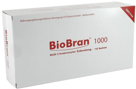 BMTBraun Biobran 1000 Pulver Beutel (105 Stk.)