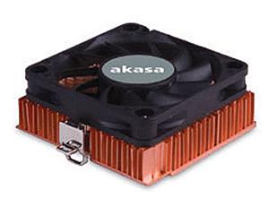 Image of Akasa 1U Socket A/370 Copper Cooler (AK-351)