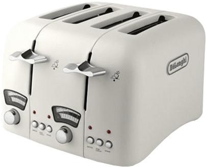 Image of De'Longhi Argento 4 Slice Toaster Cream