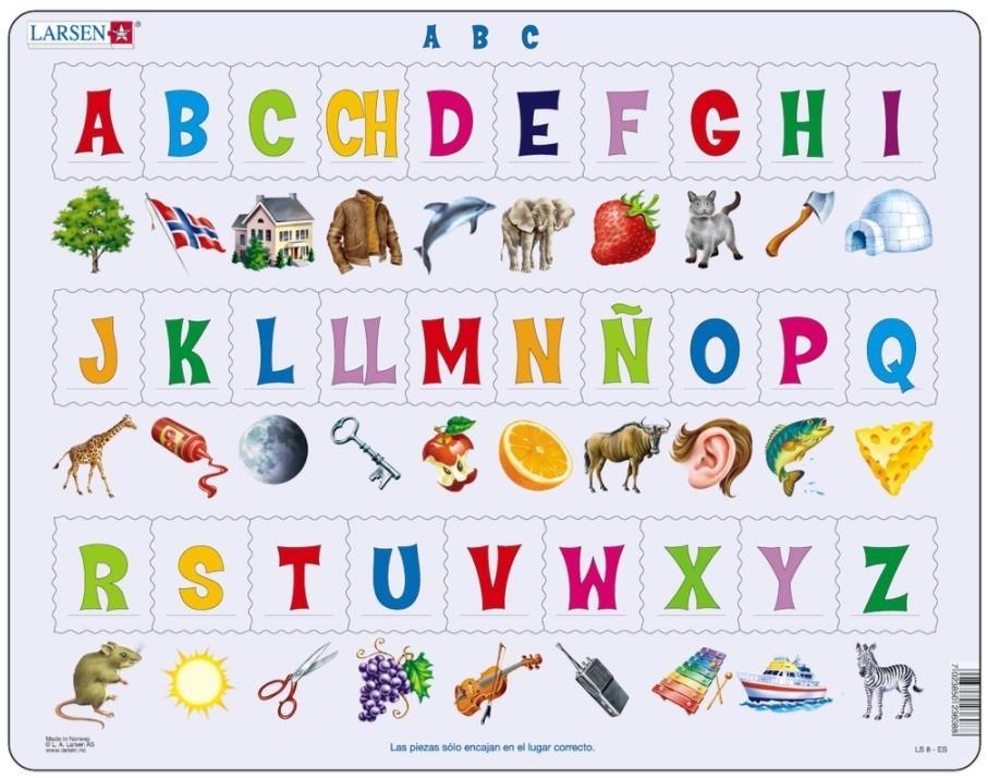 Larsen Puzzlespaß mit Buchstaben