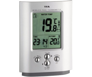 tfa dostmann miami funk poolthermometer ab 28 00. Black Bedroom Furniture Sets. Home Design Ideas