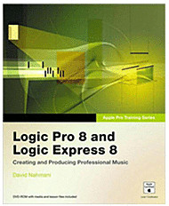 Image of Addison Wesley Logic Pro 8 and Logic Express 8: Creating and Producing Professional Music (EN) (Mac)