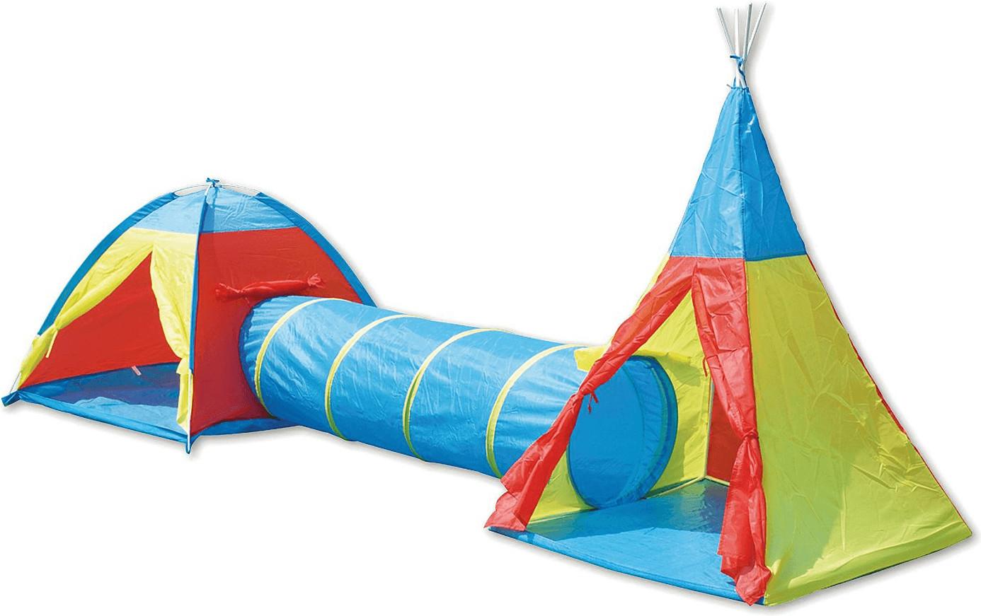 The Toy Company Abenteuerzelt mit Tunnel