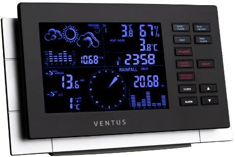 Ventus W 155 Wetterstation mit Regenmesser und ...