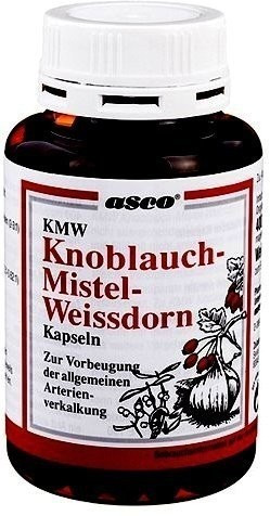 Knoblauch Kapseln M. Mistel U. Weissdorn (400 Stk.)