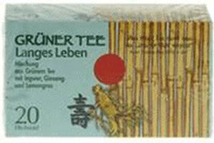 Allpharm Grüner Tee + Ingwer + Ginseng (20 Stk.)