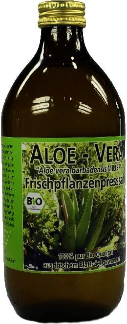 Biopräp Aloe Vera Frischpflanzen Saft (500 ml)