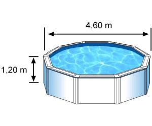 Gre bora dream pool 460 x 120 cm ab 650 70 for Stahlwandpool 3m durchmesser