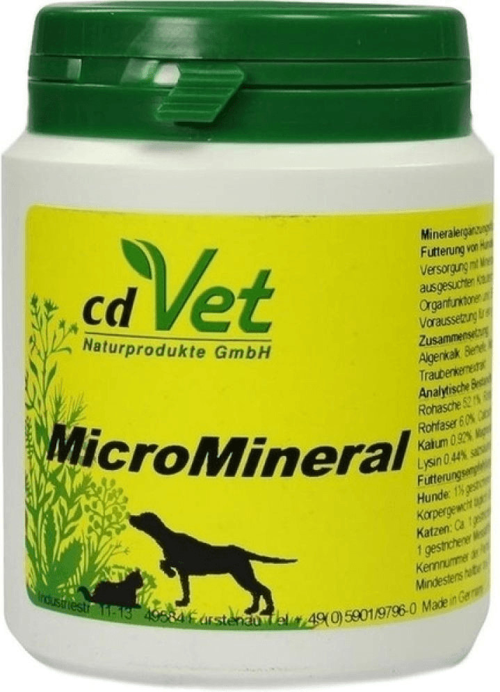 cdVet MicroMineral Hund & Katze 150g
