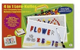 The Toy Company 4 in 1 Lern-Koffer