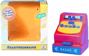 The Toy Company Registrierkasse mit Klingelton