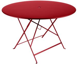Fermob Table ronde pliante Bistro 117 cm au meilleur prix sur idealo.fr