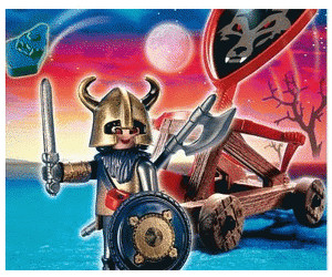 Playmobil Wolf Knight & Catapult (4812)