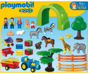 playmobil coffret grand zoo 6754 au meilleur prix sur. Black Bedroom Furniture Sets. Home Design Ideas
