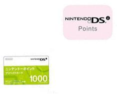 Nintendo Wii/DSi Pointscard 1000
