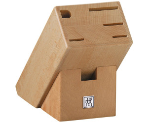 zwilling vier sterne messerblock bambus 7 tlg mit schere ab 109 92 preisvergleich bei. Black Bedroom Furniture Sets. Home Design Ideas