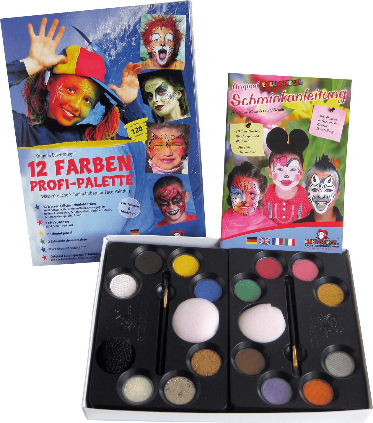 Eulenspiegel 12 Farben Profi-Palette (212011)