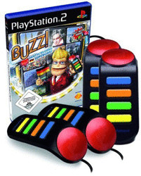 Buzz! Deutschlands Superquiz + Buzzer (PS2)