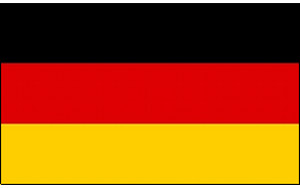 Handycop Deutschland Flagge 150 x 250 cm
