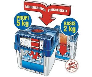 WENKO Feuchtigkeitskiller 2 kg Set mit 1x2 kg Nachfüller Raumentfeuchter