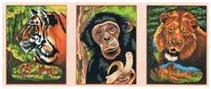 Mammut Spiel & Geschenk Malen nach Zahlen XL Ge...