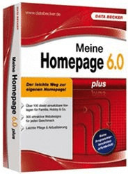 Data Becker Meine Homepage 6 Plus (DE) (Win)