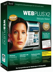 Avanquest Serif WebPlus X2 Website Maker (DE) (...