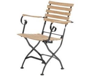 siena garden peru klappsessel eisen teak ab 149 00 preisvergleich bei. Black Bedroom Furniture Sets. Home Design Ideas