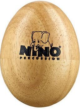 Nino Wood Egg Shaker Mediano