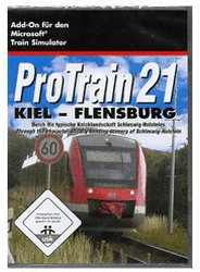 ProTrain 21: Kiel - Flensburg (Add-On) (PC)