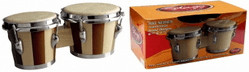 "Stagg Bongos 7.5"" & 6.5"" BW-100-DT"
