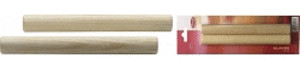 Stagg Pair of round wooden claves SCL-S