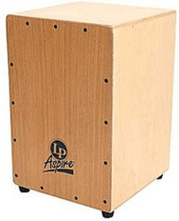 Latin Percussion LP Aspire Accents Cajon Dark Wood Streak