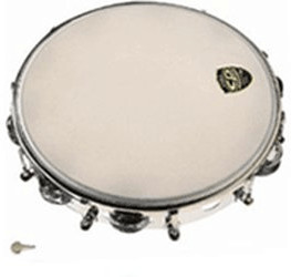 Image of Latin Percussion CP Tunable Metal Tambourine (CP-392)