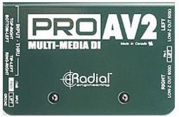 #Radial ProAV2 stereo DI#