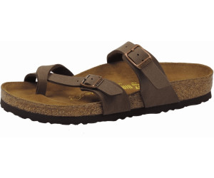 BIRKENSTOCK Mayari, Damen Zehentrenner, Braun (Graceful Toffee Graceful Toffee), 41 EU