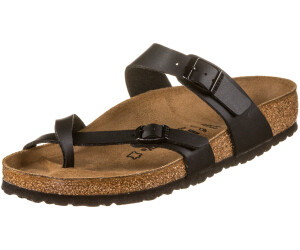 Birkenstock Mayari Regular Licorice/Birko-Flor Graceful, Chaussures femme - 39 EU