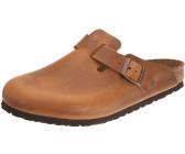 Rohde Uomo Pantofole Pantofole Clog in pelle nera invece di 3995