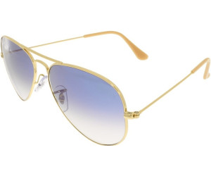 dd68a54db9f61f Ray-Ban Aviator Metal RB3025 Large Metal RB3025 001 3F (arista bleu clair  dégradé)