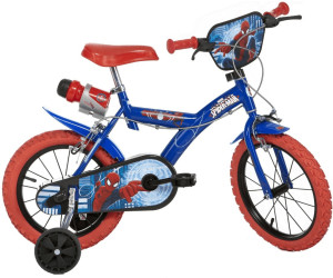 dino bikes spiderman 14 zoll ab 117 90 preisvergleich. Black Bedroom Furniture Sets. Home Design Ideas